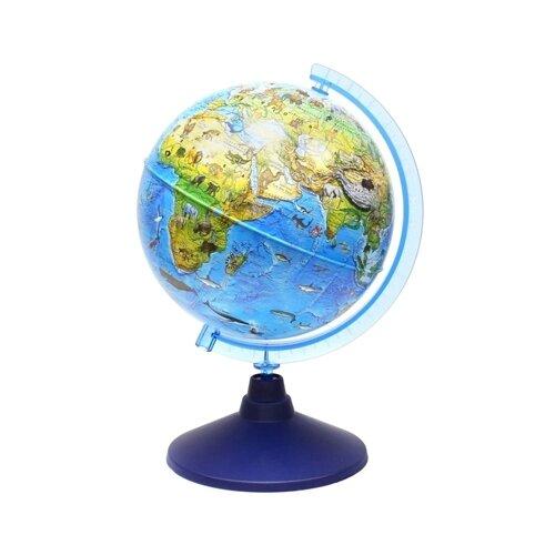 Глобус зоогеографический Globen Детский Классик Евро 210 мм (Ке012100207) синий