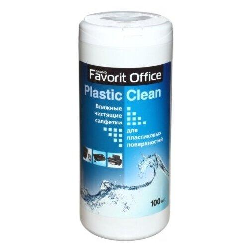 Фото - Favorit Office Plastic Clean F230007 влажные салфетки 100 шт. для оргтехники рамка werkel favorit на 3 поста белый матовый wl01 frame 03