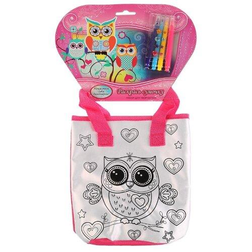 Купить MultiArt Набор для росписи сумки Совушки (ST-025-OWL), Роспись предметов