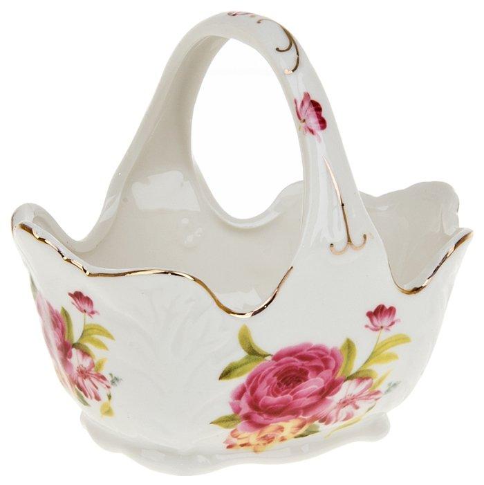 Конфетница Best Home Porcelain, Цветочный аромат, 12,5*10*11 см 2080129