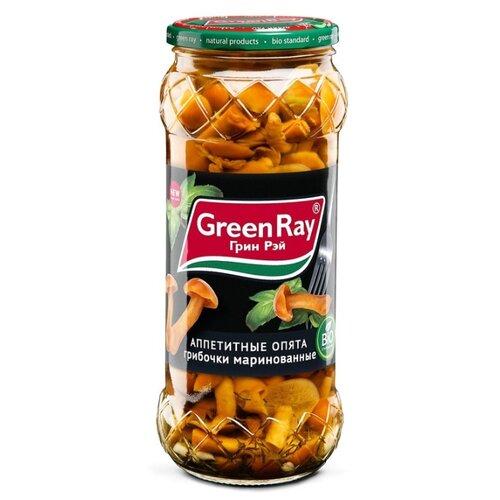 Опята Green Ray маринованные 580 млГрибы консервированные<br>