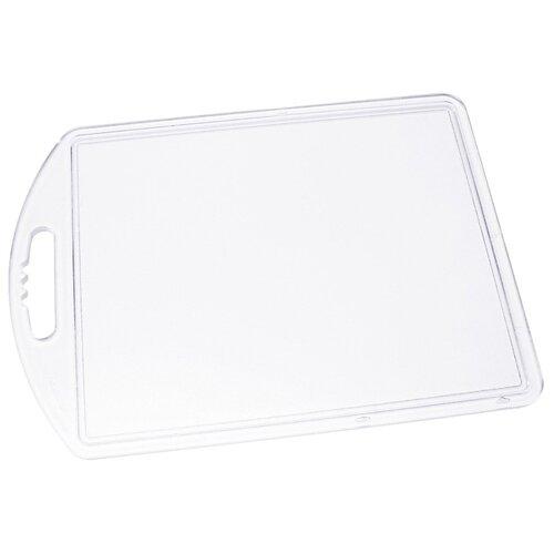 Разделочная доска Fackelmann 9293 35x25х0.6 см полупрозрачный/белый