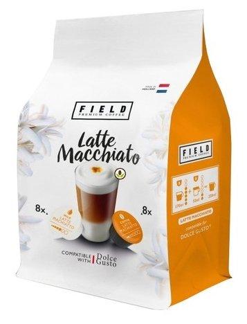 Кофе в капсулах Field Latte Macchiato (16 капс.)