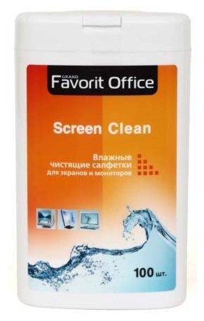 Favorit Office Screen Clean F130002 влажные салфетки 100 шт. для экрана