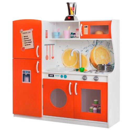 Купить Кухня PAREMO PK218/PK218-01/PK218-02/PK218-03/PK218-04/PK218-05/PK218-06/PK218-07 темно-коралловый, Детские кухни и бытовая техника
