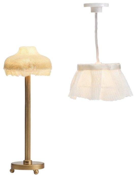 Lundby Торшер и люстра с абажуром Смоланд (LB_60604200)