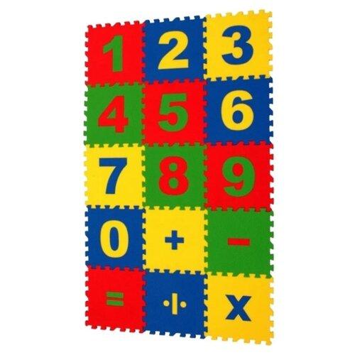 Купить Коврик-пазл ЭкоПолимеры Математика (25МПД1/Ц), Игровые коврики
