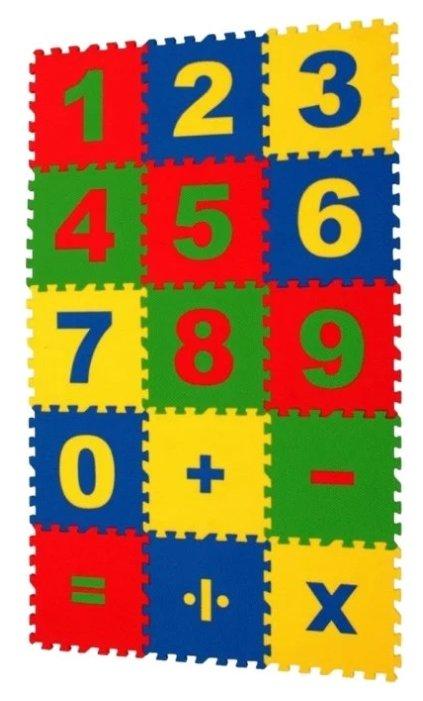 Коврик-пазл ЭкоПолимеры Математика (25МПД1/Ц)