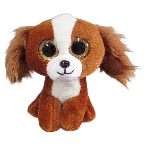 Мягкая игрушка Yangzhou Kingstone Toys Собачка коричневая 15 см