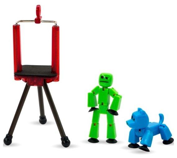 Игровой набор Zing Stikbot Анимационная студия с питомцем TST615A