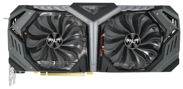 Palit Видеокарта Palit GeForce RTX 2080 1515MHz PCI-E 3.0 8192MB 14000MHz 256 bit HDMI HDCP GameRock Premium