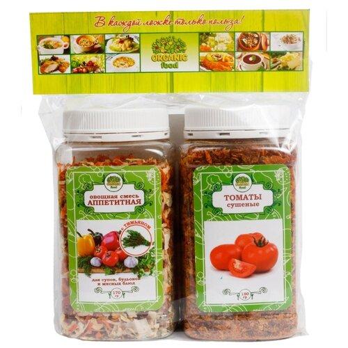 Organic Food Набор специй Аппетитная и Томаты, 350 г