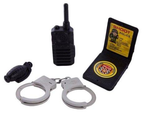 Игровой набор Little Zu Полицейский 90036D