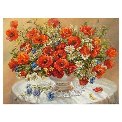 Купить Paintboy Картина по номерам Маки 40х50 см (GX8007), Картины по номерам и контурам
