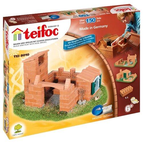 Фото - Конструктор TEIFOC Classics TEI8010 Замок и дом конструктор teifoc classics tei9010 цветник