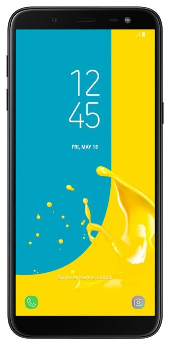 Смартфон Samsung Galaxy J6 (2018) 32GB Black