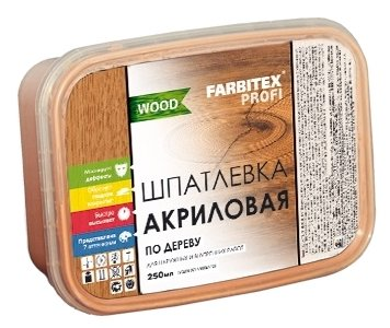 Шпатлевка Farbitex Профи Wood акриловая по дереву