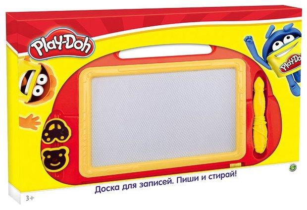 Доска для рисования детская Play-Doh Пиши-Стирай со штампами (PDDB-US1-PNT01-BRD)