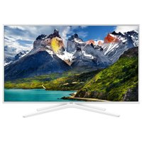 "Телевизор LED Samsung 43"" UE43N5510AUXRU белый/FULL HD/100Hz/DVB-T2/DVB-C/DVB-S2/USB/WiFi/Smart TV (RUS)"