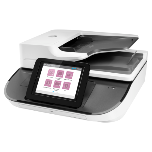 Сканер HP Digital Sender Flow 8500 fn2 белый/серый