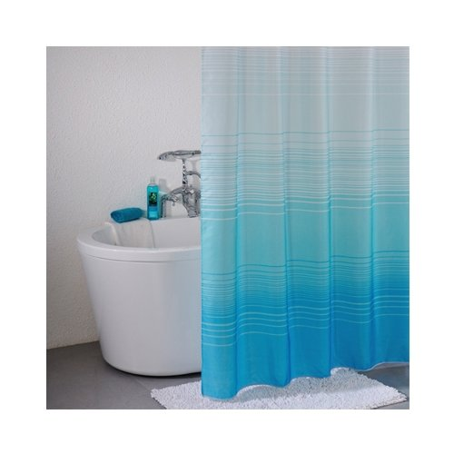 Штора для ванной IDDIS 301P20RI11 200x200 синий
