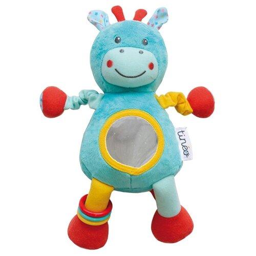 Погремушка Tineo Circus голубой/красный/желтый развивающие игрушки tineo спираль circus
