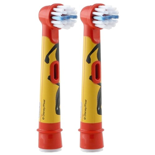 Набор насадок Oral-B Stages Kids Incredibles, красный, 2 шт