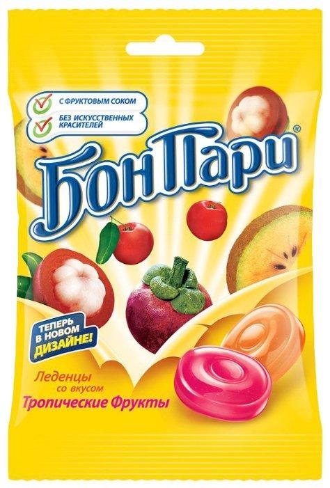 Леденцы Бон Пари Тропические фрукты 75 г