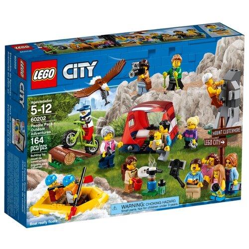 Конструктор LEGO City 60202 Любители активного отдыха конструктор city lego lego mp002xb00c9t