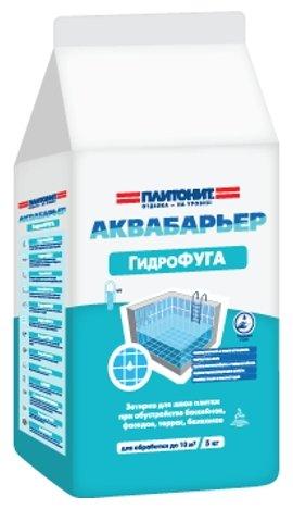 Затирка Plitonit Аквабарьер Гидрофуга 5 кг