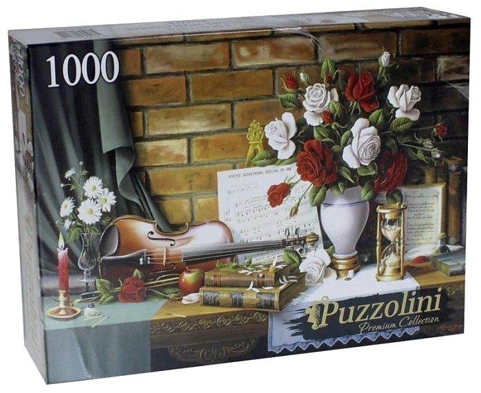 Пазл Рыжий кот Puzzolini Красивый натюрморт со скрипкой (ALPZ1000-7745) , элементов: 1000 шт.