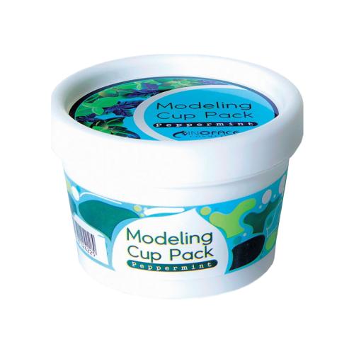 Фото - Inoface Альгинатная маска Peppermint Modeling, 15 г inoface альгинатная маска chlorella modeling 18 г