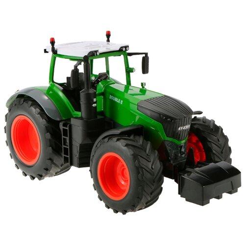 Трактор Double Eagle E354-003 1:16 71 см зеленый / красный