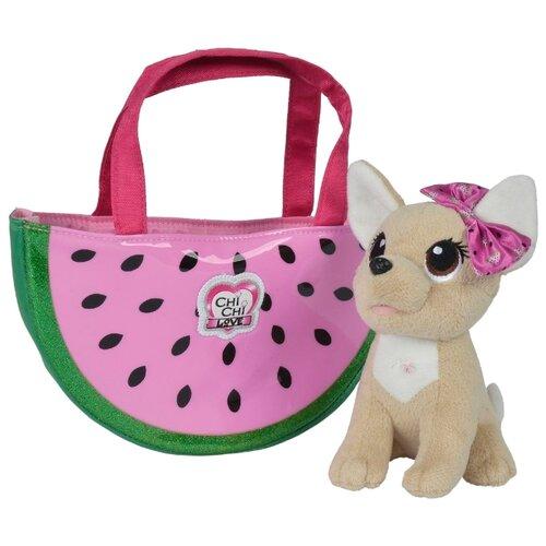 Фото - Мягкая игрушка Simba Chi chi love Собачка Фруктовая мода 18 см игровой набор chi chi love simba коллекционная собачка чи чи 5893111chi