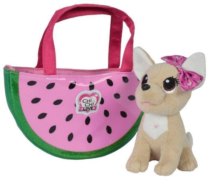 Мягкая игрушка Simba Chi chi love Собачка Фруктовая мода 18 см