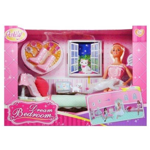 Купить Набор Shantou Gepai Anlily Спальня, 29 см, 99051, Куклы и пупсы