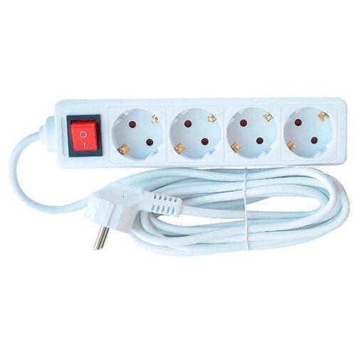 Удлинитель In Home 4GS-5-SMART, 5 мУдлинители и сетевые фильтры<br>
