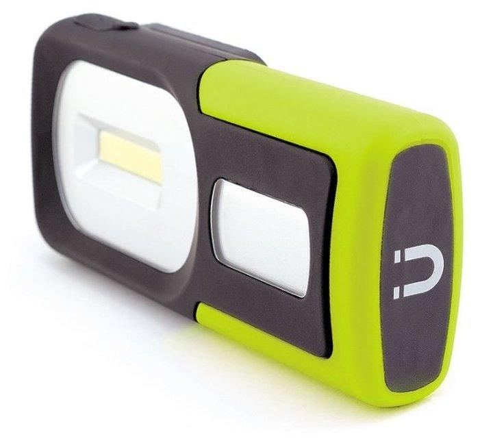 Универсальный фонарь яркий ЛУЧ Optimus Pocket, оранжевый / черный, 3.5Вт