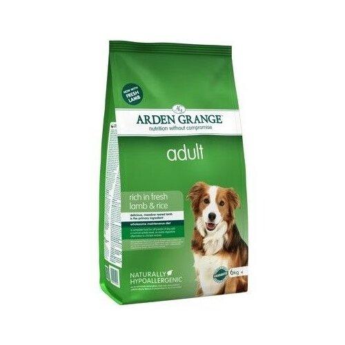 Корм для собак Arden Grange (6 кг) Adult ягненок и рис сухой корм для взрослых собак arden grange arden grange adult pork