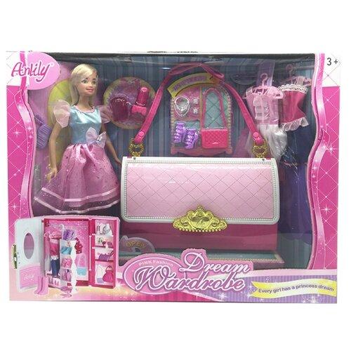 Купить Набор Shantou Gepai Anlily с сумкой-гардеробом, 99046, Куклы и пупсы