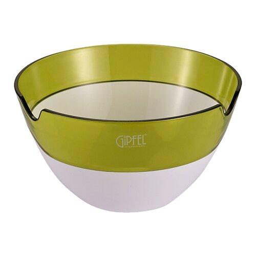 GIPFEL Салатница с двойными стенками Amadeus 16.3 см белый/зеленый салатница с двойными стенками amadeus 16 3х16 3х8 см зеленая 9441 gipfel