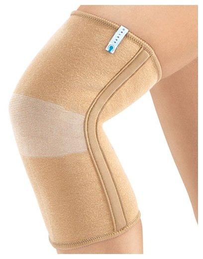 MKN 103(M). Ортопедический Бандаж для легкой фиксации коленного сустава (наколенник) с ребрами жесткости mkn103m,разм.XS Orlett. Орлетт. MKN 103 M