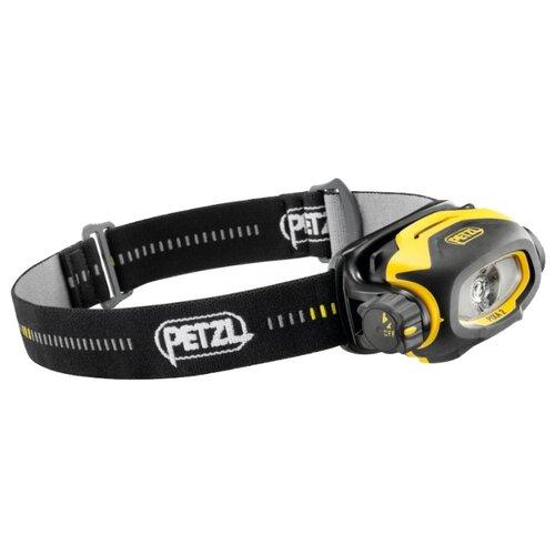 Налобный фонарь Petzl Pixa 2 черный/желтый крюк скальный petzl petzl v conique 11 см 11cm