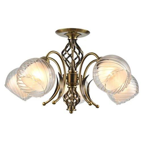 Люстра Arte Lamp Dolcemente A1607PL-5AB, E27, 300 Вт люстра arte lamp barbara a6066pl 5ab e27 300 вт