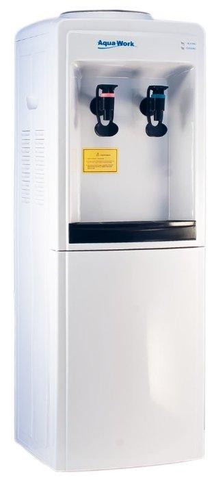Кулер для воды напольный Aqua Work 0.7-LW/B