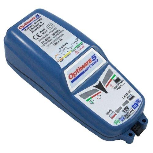Зарядное устройство Optimate 5 Start-Stop синий зарядное устройство optimate 4 dual program tm340