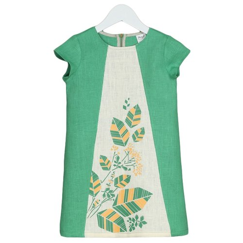 Платье ЁМАЁ размер 92, травянойПлатья и юбки<br>