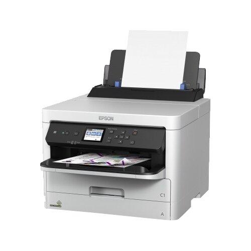 Принтер Epson WorkForce Pro WF-C5290DW, серый/чёрный