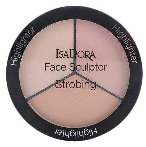 IsaDora Палетка хайлайтеров для лица Face Sculptor Strobing