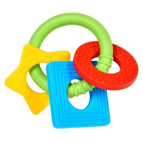 Фото - Прорезыватель Dr. Brown's Learning Loop желтый/голубой/красный dr browns прорезыватель coolees